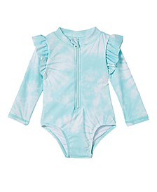Baby Girls Lucy Long Sleeve Swimsuit