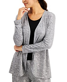 Petite Foil Space-Dyed Lounge Cardigan, Created for Macy's