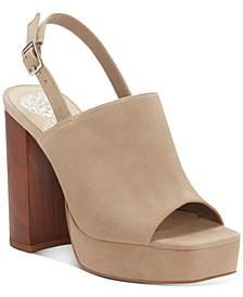 Sovetta Slingback Platform Sandals