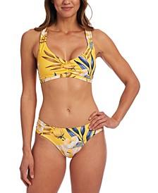 Belle Fiore V-Neck Bikini Top & Belle Fiore Hipster Bikini Bottoms