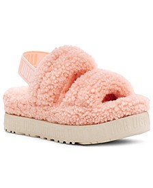 Oh Fluffita Slingback Sandals