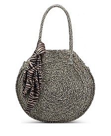 Quinn Straw Tote, Created for Macy's