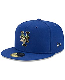 New York Mets Woodland Fill 59FIFTY Cap