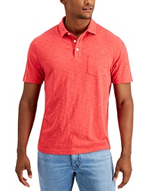 Men's Regular-Fit Textured Polo Shirt, Created for Macy's