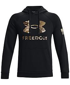 Men's Freedom Logo-Print Hoodie