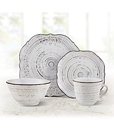 Isabella 16-PC Dinnerware Set, Service for 4