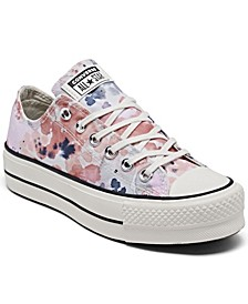 Women's Festival Platform Chuck Taylor All Star Ox Low Top Casual Sneakers from Finish Line