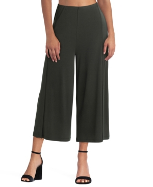Women's Cropped Pleated Pant