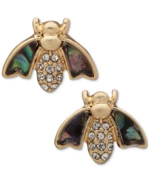 Gold-Tone Critter Stud Earrings