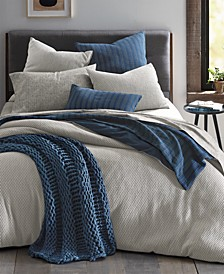 Textured Geo Jacquard Comforter Sets, Created for Macy's