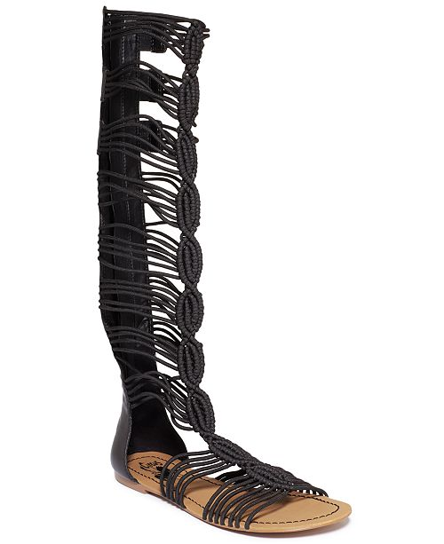 1a576d940 Circus by Sam Edelman Badger Tall Shaft Gladiator Sandals   Reviews