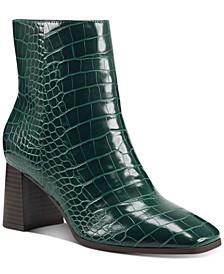 Women's Dasha Block-Heel Booties, Created for Macy's