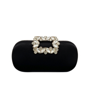 Denise Crystal Clasp Minaudiere