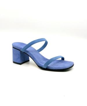 Women's Naked Lady Slip On Double Strap Dress Sandals Women's Shoes