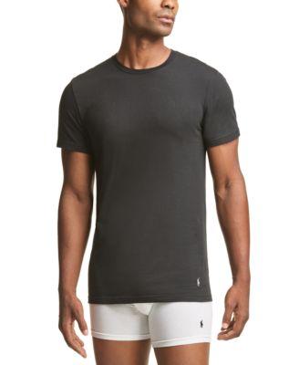 폴로 랄프로렌 Polo Ralph Lauren Mens Tall Crewneck T-Shirts - 3-Pack
