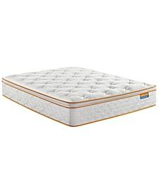 """Sleep Thrillzzz 13"""" Plush Pillow Top Mattress Set- Twin"""