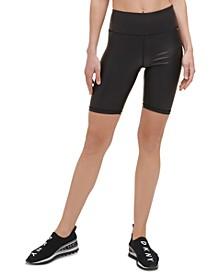 Sport Women's Faux-Leather Bike Shorts