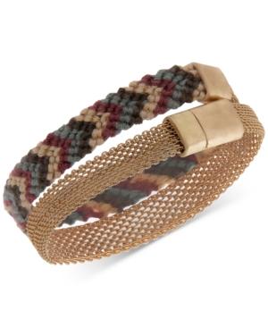 Gold-Tone Double Wrap Bracelet