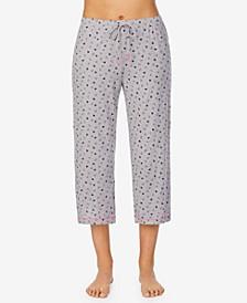 Moisture-Wicking Cropped Pajama Pants