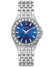 Women's Phantom Crystal Stainless Steel Bracelet Watch 32mm