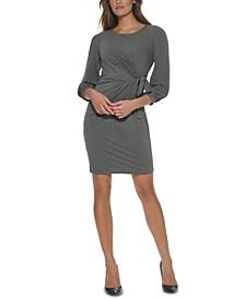 Side-Tie Jersey Dress