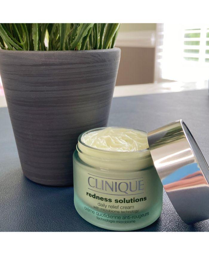 Clinique Redness Solutions Daily Relief Cream, 1.7 oz & Reviews - Skin Care - Beauty - Macy's