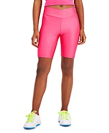 Solid Bike Shorts, Created for Macy's