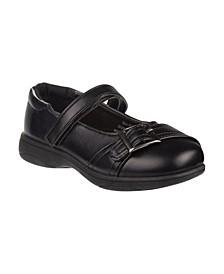 Little Girls Accent School Shoes