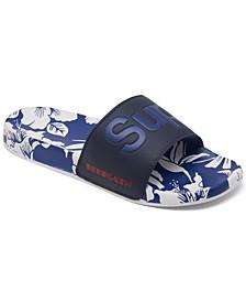 Men's All over Print Beach Slide Sandals from Finish Line