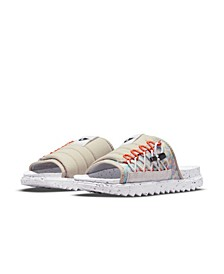 Men's Asuna Crater Slide Sandals from Finish Line