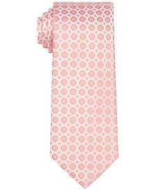 Men's Slim Hex Dot Medallion Tie