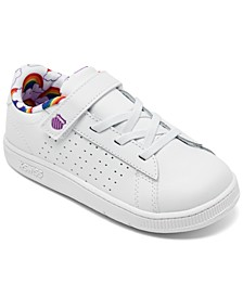 Toddler Girls Court Casper AC Rainbow Casual Sneakers from Finish Line