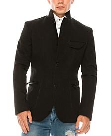 Men's Modern Casual Stand Collar Sport Coat