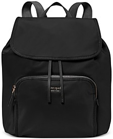 Sam The Little Better Nylon Medium Flap Backpack