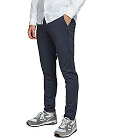 Men's Marco Herringbone Slim Knit Pants