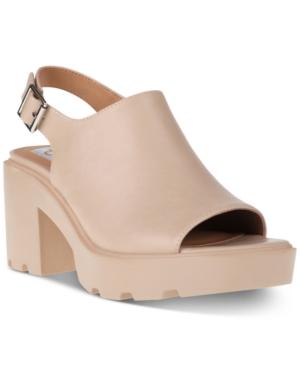Luggy Slingback Lug-Sole Sandals Women's Shoes