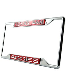 Stockdale Texas A&M Aggies Laser License Plate Frame
