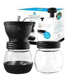 Bremen Manual Ceramic Conical Burr Coffee Grinder and Spice Mill