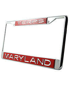 Stockdale Maryland Terrapins Laser License Plate Frame