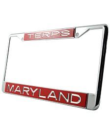 Stockdale Maryland Terrapins Laser License Plate Frame