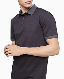 Men's Liquid Touch Jacquard Dot Polo Shirt