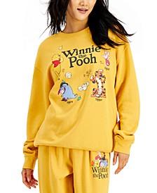 Juniors' Winnie-The-Pooh-Graphic Sweatshirt