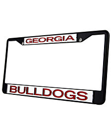 Stockdale Georgia Bulldogs Laser License Plate Frame