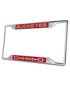 Stockdale Ohio State Buckeyes Laser License Plate Frame