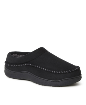 Men's Thompson Microsuede Moc Toe Clog Slippers Men's Shoes