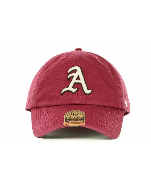 promo code 23605 9b33a ... norway 47 brand arkansas razorbacks franchise cap sports fan shop by  lids men macys 1aea2 3c42a