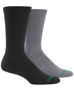Men's 2-Pack Compression Crew Socks
