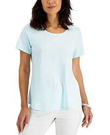 Knit Eyelet T-Shirt, Created for Macy's