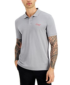 Men's Regular-Fit Embroidered Logo Polo Shirt, Created for Macy's