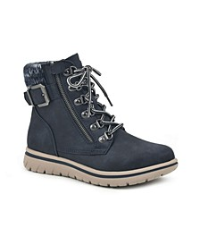 Women's Hearty Lace-Up Hiker Booties